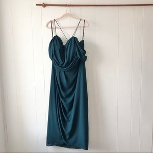 City Chic Dresses - City Chic NWT Emerald Green Entwine Maxi Dress